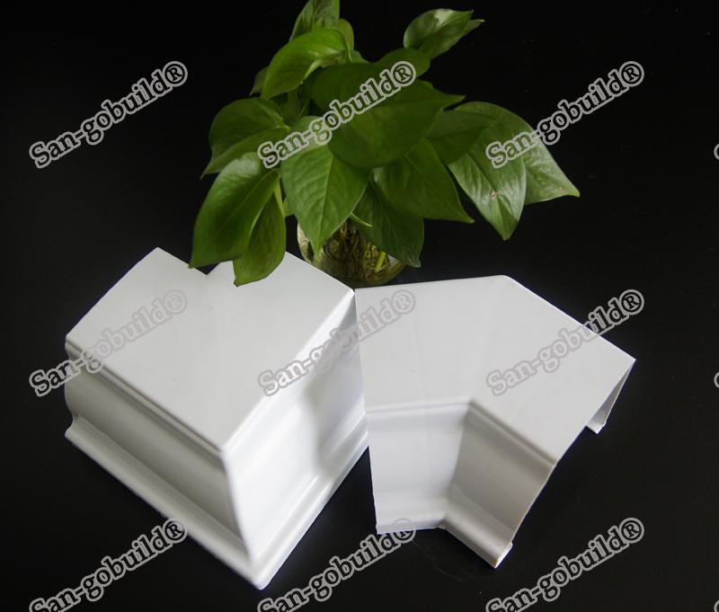 Wholesale Uv Resistant Building Material Pvc Rain Gutter