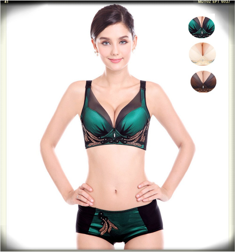 329bb151fa1 Get Quotations · women bra briefs set 3 4 cup summer style 2015 sexy lace  push up bras
