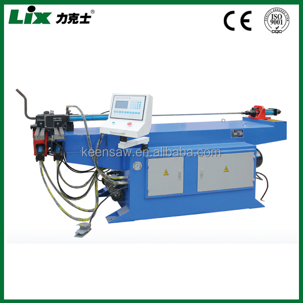 PLC system single end aluminium pipe bending machine tube bender LDW-50NC
