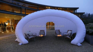 Most Fashion promotion inflatable booth hall