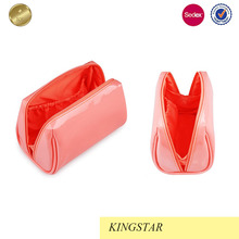 basics round travel blank cosmetic bag