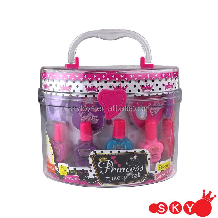 Makeup Kit For Kids Nail Art Shiny Glitter Diy Nail Polish - Buy ...