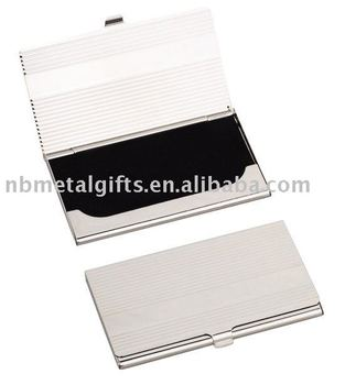 metal business card holder - Metal Business Card Case