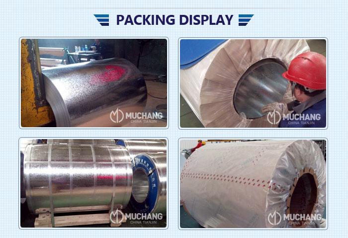 Anti-finger print dx54d z100 아연 metal galvanized 강 coils