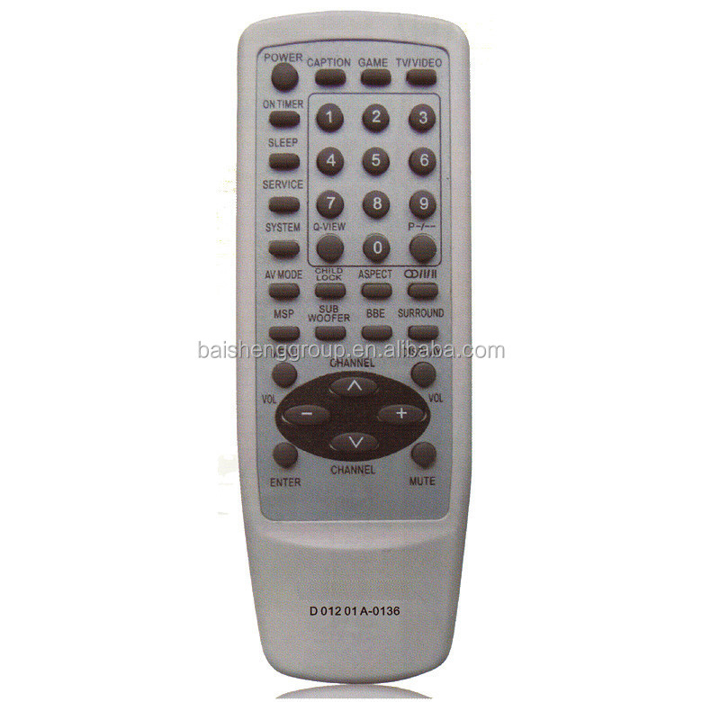 high qualtity tv remote control for customers