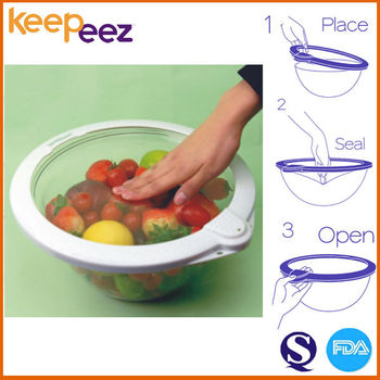 5 Pieces Keepeez Vacuum Sealed Food Storage Containers