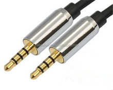 3.5mm pin to 3.5mm 3ft Cable for Audio - Black