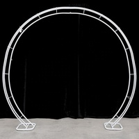Heavy Large Bulk Wedding Round Strong Metal Arch Stand Wedding Garden Arch