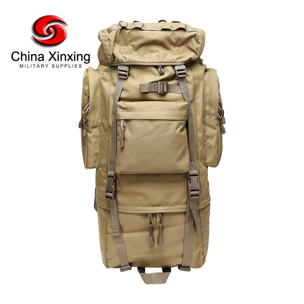 Custom 600D Polyester Multifunctional Military Tactical Big Capacity Backpack for Hunting Camping