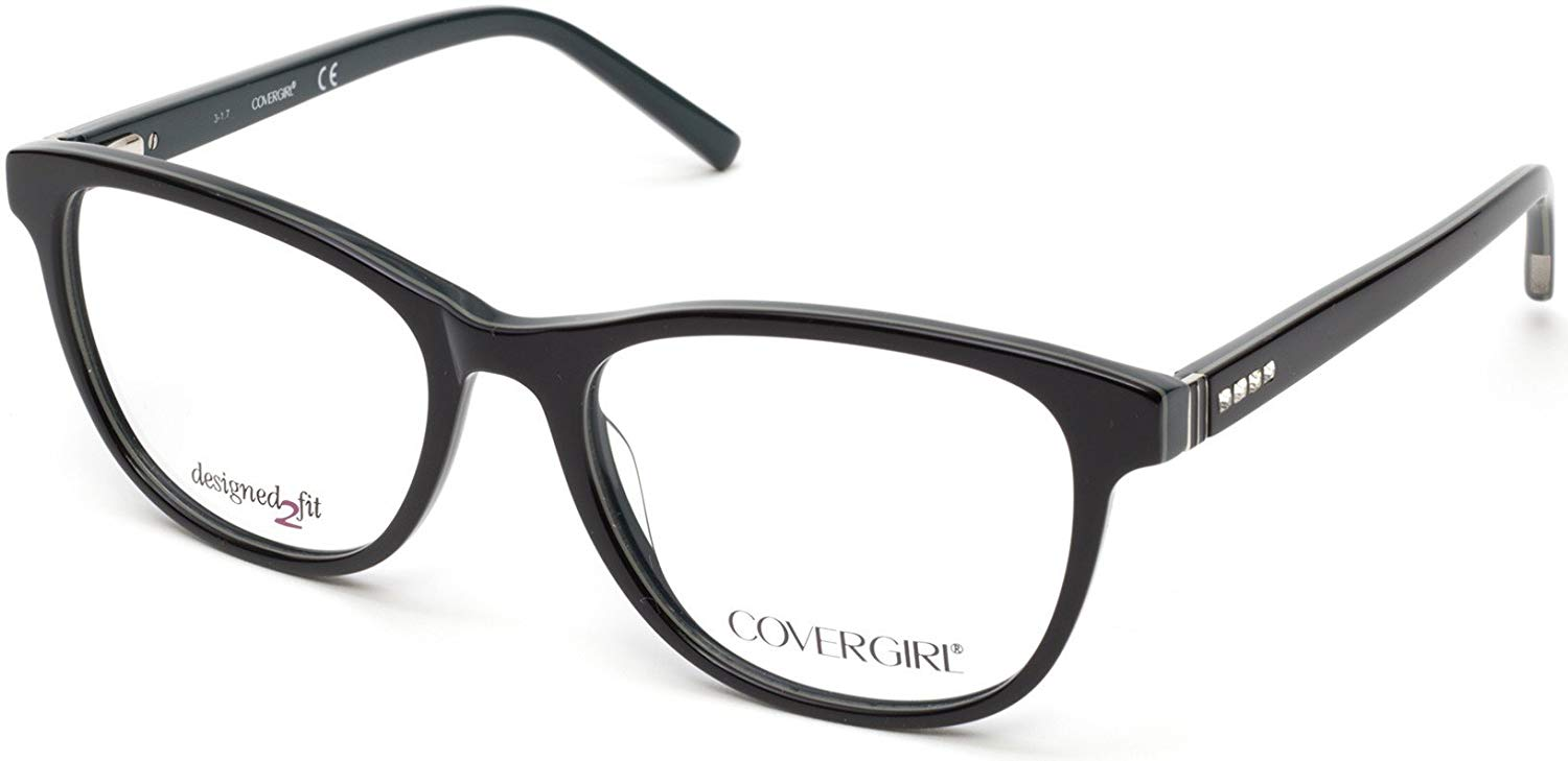 5462f1c6e37 Get Quotations · Eyeglasses Cover Girl CG 0463 005 black other