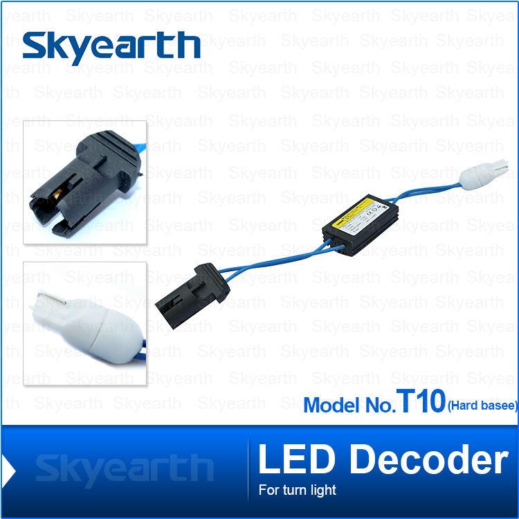 Car Light Accessories Obliging 2pcs Car T10 Led Warning Canceller Decoder T10 501 W5w No Canbus Ocb Error Load Resistor 12v