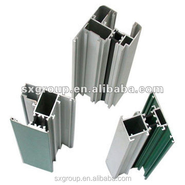 Anhui munufacturer aluminum profiles for casement window and door