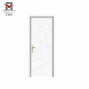 Yongkang factory good quality panel solid 24 x 80 inches exterior solid wood door