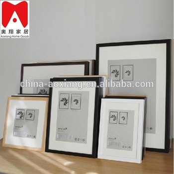 China Factory 4x6 5x7 6x8 8x10 A4 Size Wooden Color Photo Frame