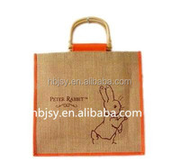 cheap custom india jute bag manufacturer Recyclable Eco-friendly shopping jute burlap sack hemp bags