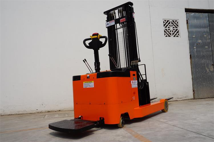 1t 1600mm Standing Operation Small Electric Reach Fork Lift Truck Stacker -  Buy Electric Reach Fork Lift Truck,Small Reach Fork Stacker,Narrow Aisle