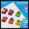Super cartoon car toysfor kids plastic friction power toys cars