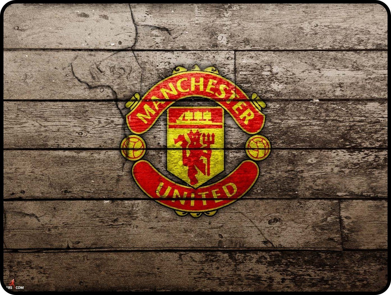 Best Non-slip Rubber Base - Manchester United F.C. MANCHESTER UNITED Mousepads 300x250x3mm(11.80x9.84x0.12inch)