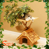 China manufacturer Wholesale artificial tree & wooden house & cat tree house