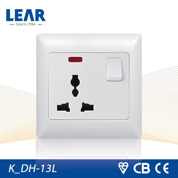 15 years warranty Knight series 3 pin socket electrical socket power socket