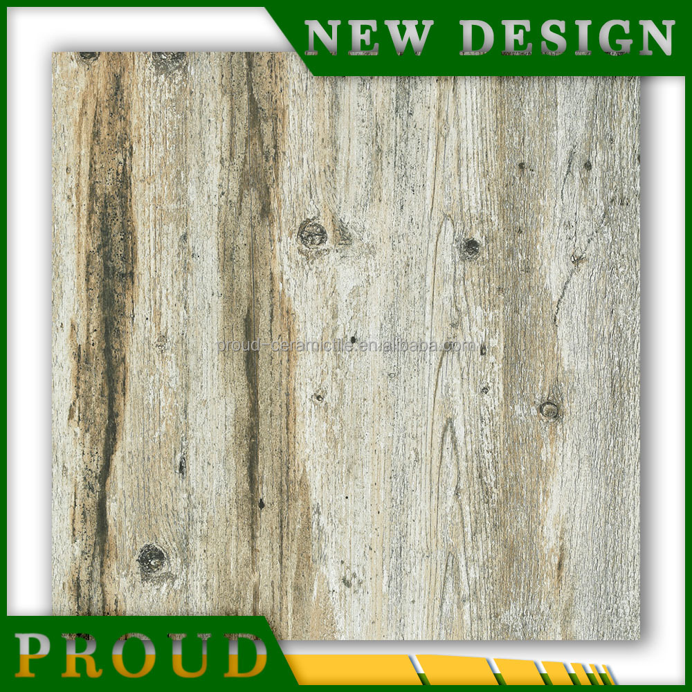 60x60 porcelain imitate rustic grey wooden floor tiles