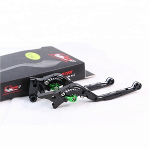 Motorcycle Accessories CNC Aluminum Adjustable Folding Extendable Brake  Clutch Levers for Kawasaki Z125 Pro