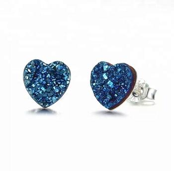 Wholesale Turkish Agate Stone Jewelry Druzy Stud Earrings - Buy Druzy  Earrings,Druzy Stone Earrings,Turkish Druzy Jewelry Product on Alibaba com