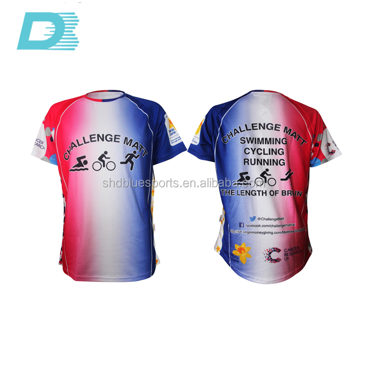 Logo Shirt Scoop Bottom ,3d Printing ,Brand Customized Design Sublimation Printing T Shirt