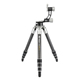 Fotopro outdoor carbon fiber video wild Gitzo tripod with 3 axis gimbal for outdoor