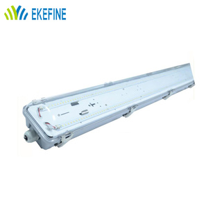 1200mm T8 Vapor tight linear lighting fixture ip66 tri-proof 60W led light