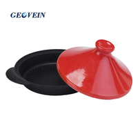 Hot sale tagine pot cast iron enamel cookware from turkey