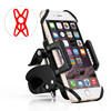 Best Selling Preminum Bike Accessories Cell Phone Holder Bicycle Handlebar Plastic Mobile phone holder with strap