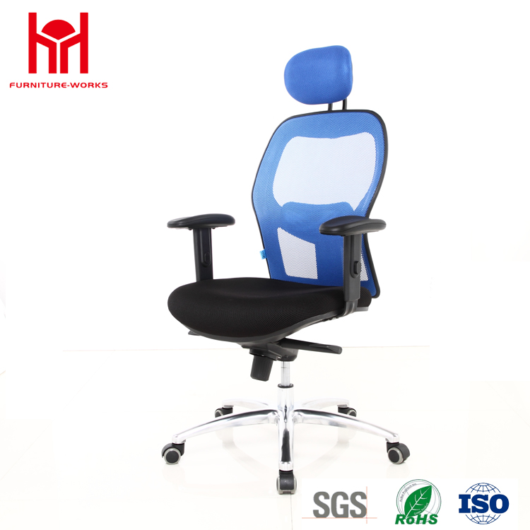 Aluminium Legs Mesh ergonomic office chair