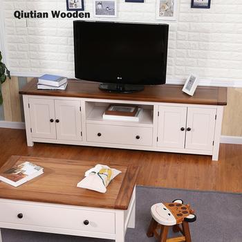 Modern White Tv Stand Wooden Led Tv Rack Designs Tv Table Buy