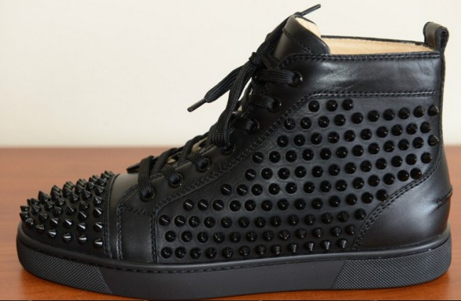 Mens Spiked Sneakers Knock Off Christian Louboutin Shoes