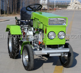 15 Hp Diesel Engine Red Color Mini Tractor For Sale Buy High