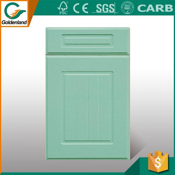 Pvc Membrane Mdf Kitchen Cabinet Door Design Cheap Price - Buy ...