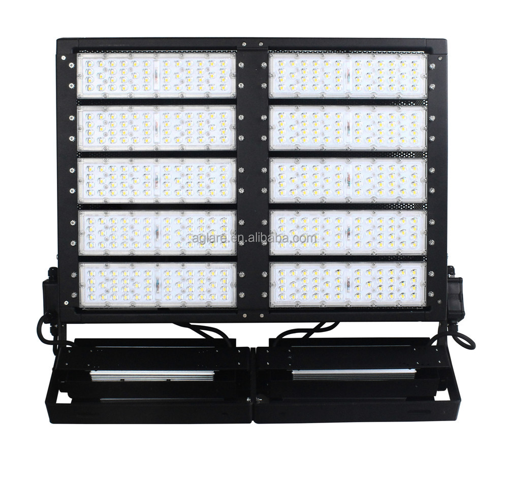 Led waterproof lights tennis court lighting smd 1000W led floodlight soccer field led flood light