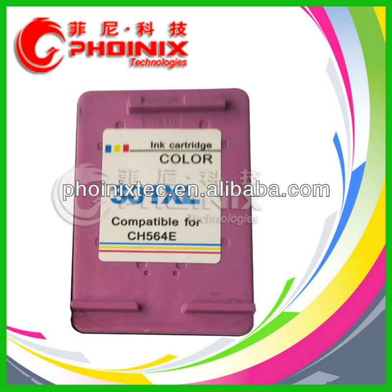 Ink Cartridge Remanufactured for HP 301XL C