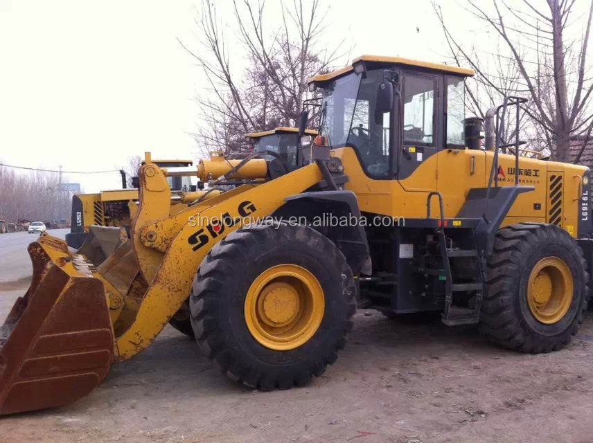 China brand used SDLG 956 wheel loaders for sale/high efficiency and low price