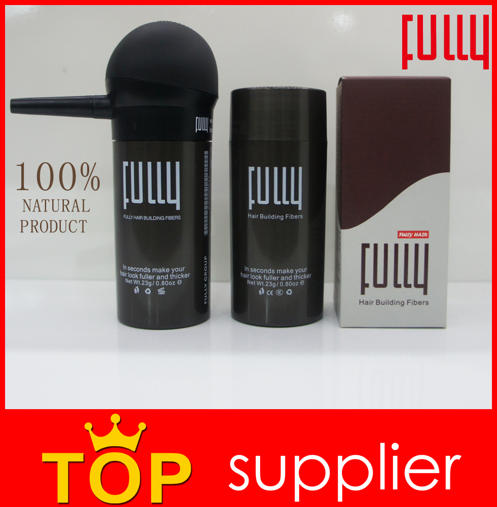 FULLY black hair building fibers best products for thin hair