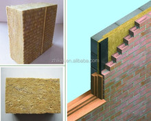 4 inch 100mm thick Acoustic Rockwool Exterior Wall Panels