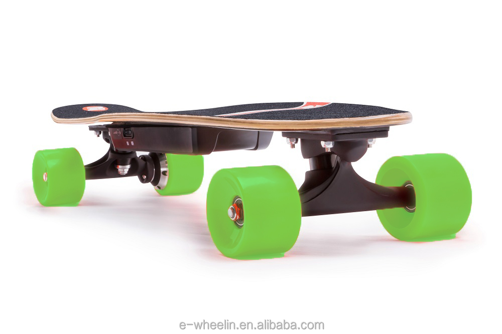 E-Wheelin New arrival 0.5h charging time 28km/speed dual driver electric skate board/hoverboard with CE FCC certificates