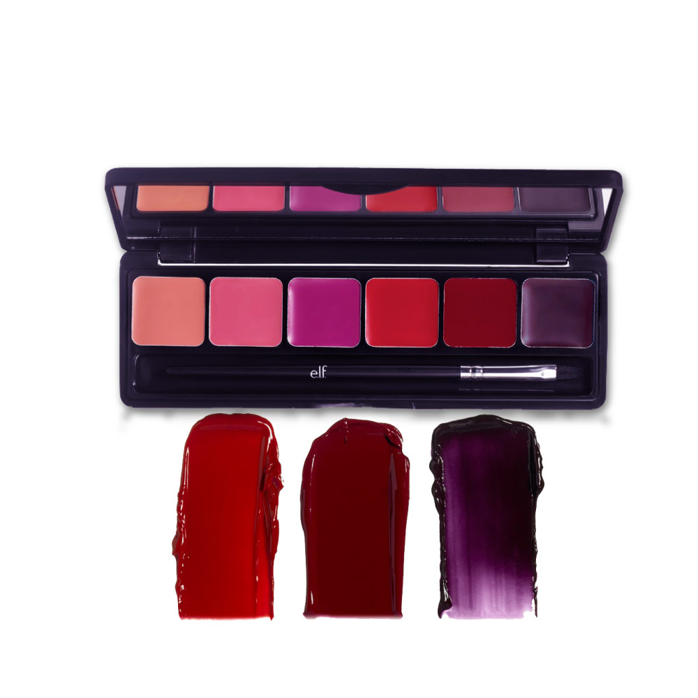 OEM COSMETIC LONG WEAR MAKEUP MOISTURIZING CREAMY 6 COLORS LIPSTICK LIP GLOSS PALETTE