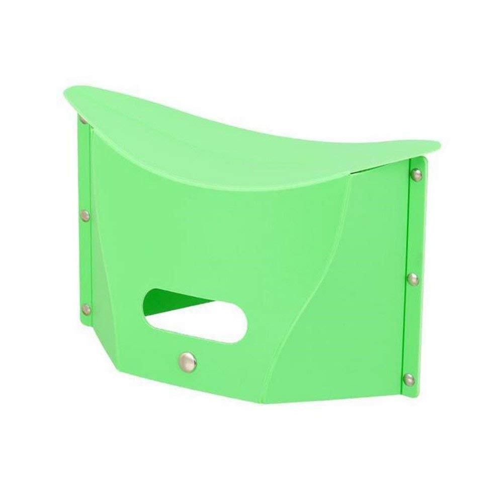 LBAFS Folding Picnic Stool Plastic Portable Multifunctional Storage Stool Outdoor Tourism Fishing,B