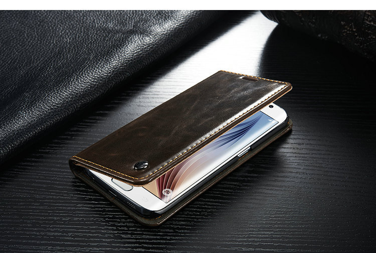 samsung galaxy s6 edge case leather