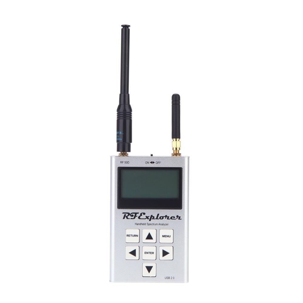 TOOGOO(R)RF Explorer-3G Combo 15-2700 MHz Handheld Digital Spectrum Analyzer LCD Display 15-2700 MHz 112KHz - 600MHz 113*70*25mm