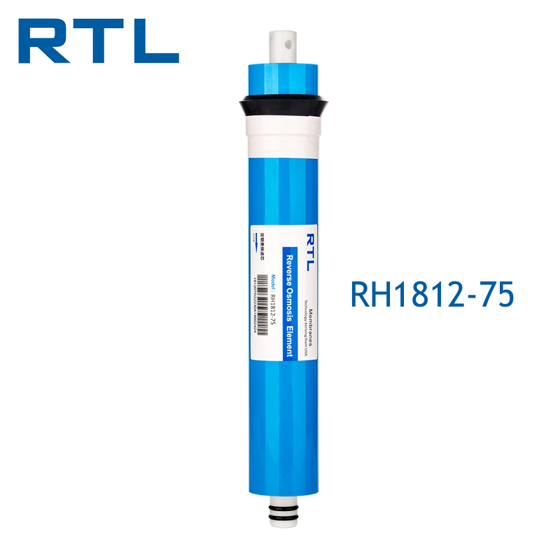 High Salt Rejection 1812 - 75 GPD RO Membrane For Small Reverse Osmosis Water <strong>Filtration</strong>