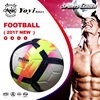 the latest new 2017 ORDEM thermal bonded PU leather texture finish body size 5 football soccer ball