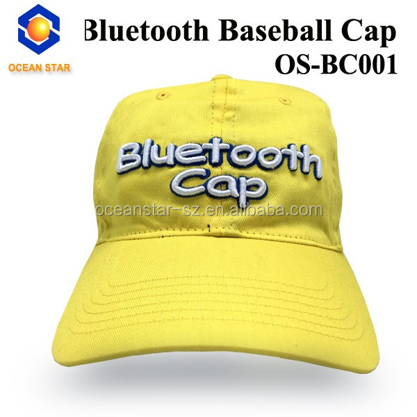 bluetooth baseball cap with hoverboard halloween bluetooth cap